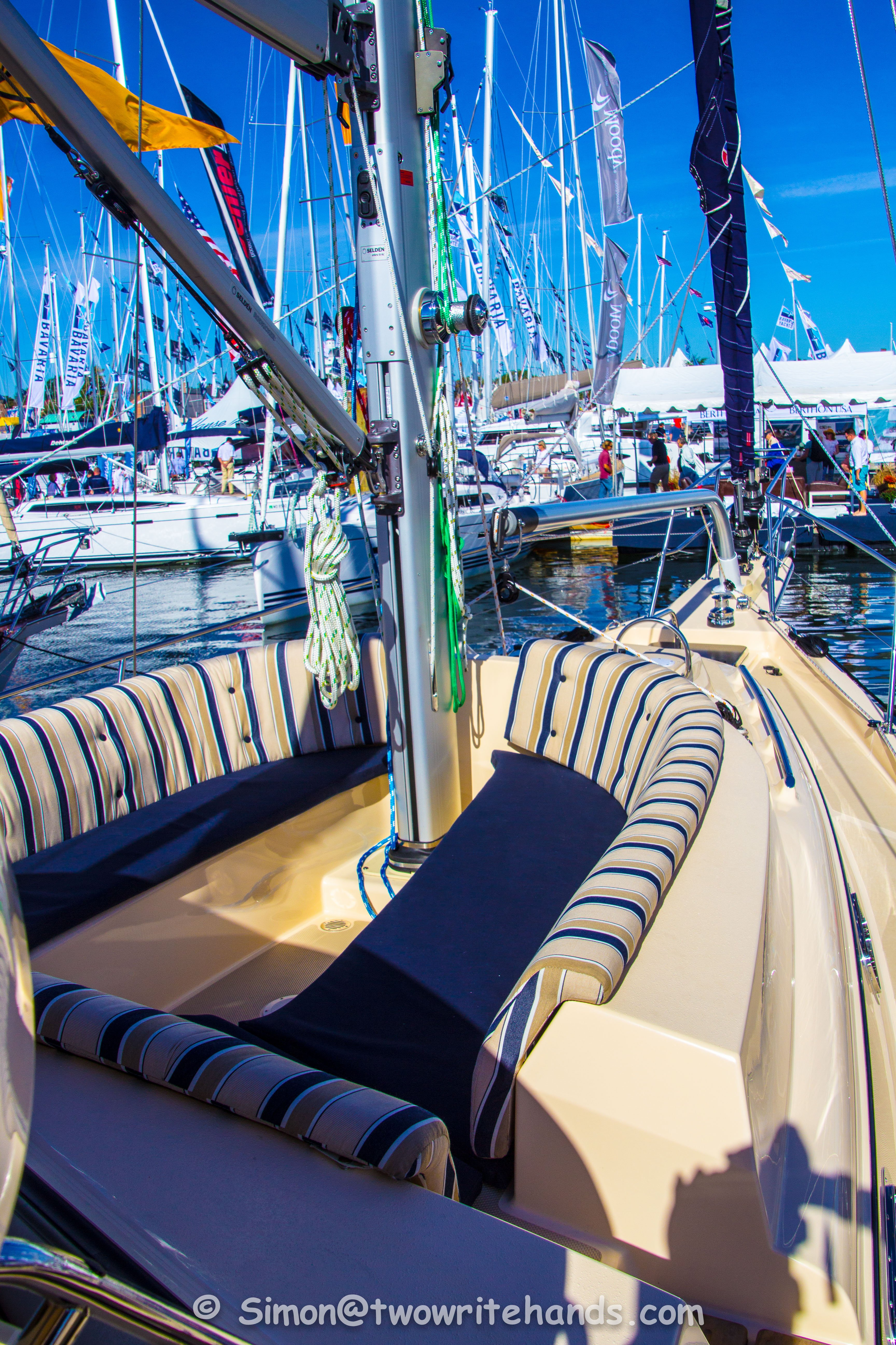 Six Legs Back at the Annapolis Boat Show: