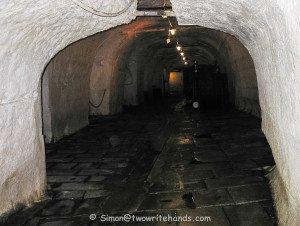 One of Many Cellar Passageways