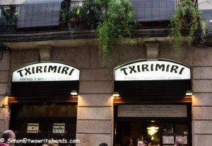 Basque Tapas Bar in El Born