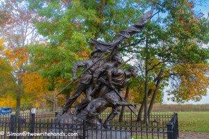 The North Carolina Monument by Gutzon Borglum