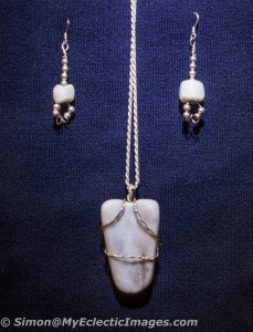 Jewelry Created from Carrara Marble