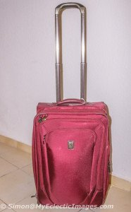 The TravelPro Suitcase I Selected