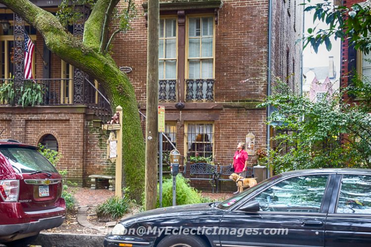 The Building that Houses Mrs Wilkes Dining Room in Savannah, GA