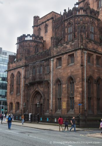 Manchester's John Rylands Library: