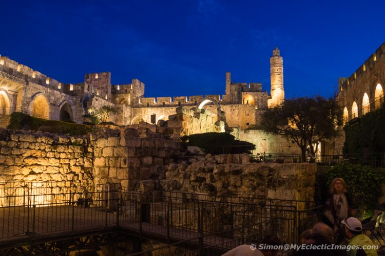 The Tower of David Night Spectacular: