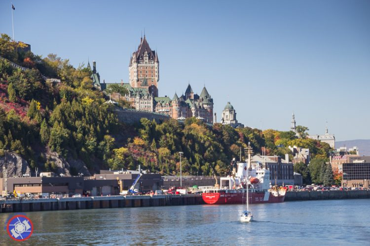 Chateau Frontenac from the Water
