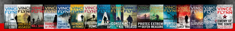 Book Jackets for the Mitch Rapp Series (derived from the late Vince Flynn's website)
