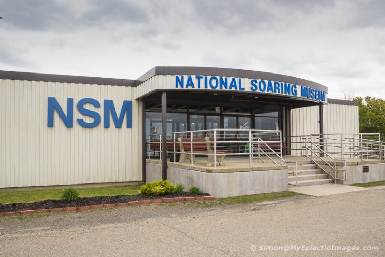 Front entrance of the National Soaring Museum (©simon@myeclecticimages.com)