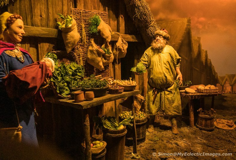One of the Dioramas at the JORVIK Viking Center (©simon@myeclecticimages.com)