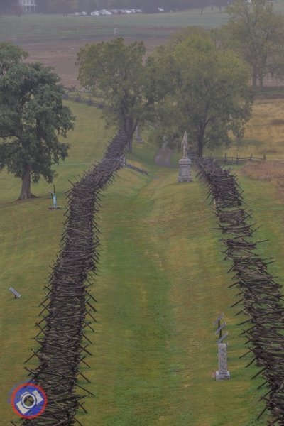 The Sunken road at the Antietam Battlefield (©simon@myeclecticimages.com)