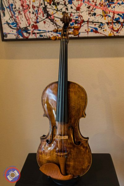 Violin Built in 1720 by Matteo Goffriller (©simon@myeclecticimages.com)
