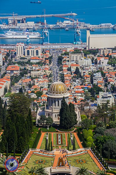 Bahai Temple and Gardens in Haifa (©simon@myeclecticimages.com)