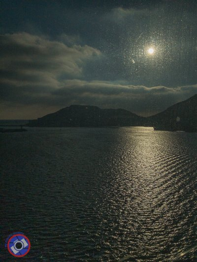 Moonlight on the bay outside Cartegena harbor (©simon@myeclecticimages.com)